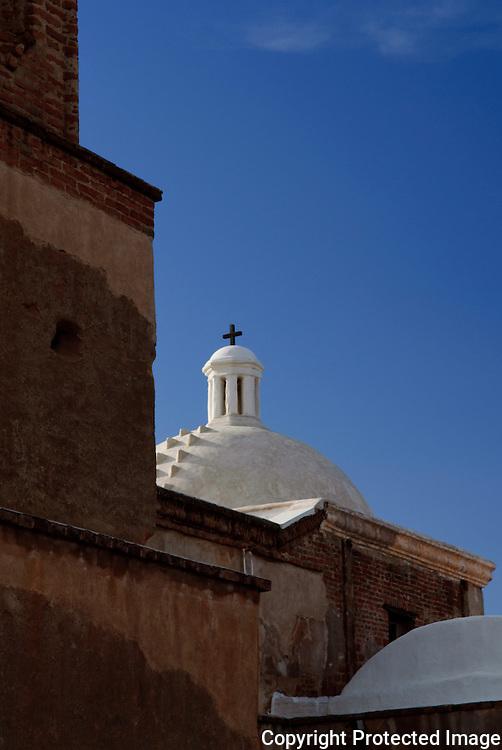 The dome on the Tumacácori Mission in southern Arizona. Missoula Photographer