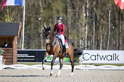 Roos Laurence, BEL, Fil Rouge<br /> CDI 3* Opglabeek<br /> © Hippo Foto - Dirk Caremans<br />  23/04/2021