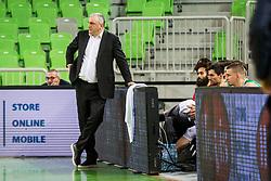 Sasa Doncic, head coach of Ilirija during basketball match between Petrol Olimpija and Ilirija in Liga Nova KBM, Playoff for Champion, on March 7, 2018 in Arena Stozice, Ljubljana, Slovenia. Photo by Ziga Zupan / Sportida