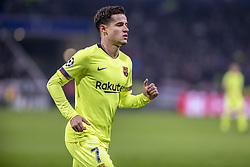 February 19, 2019 - Lyon, França - LYON, LY - 19.02.2019: LYON X BARCELONA - Philippe Coutinho during the match between Lyon and Barcelona held at Parc Olympique Lyonnais in Lyon. The match is valid for the octaves of the Champions League 2018/2019. (Credit Image: © Richard Callis/Fotoarena via ZUMA Press)