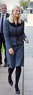 Crown Princess Mette-Marit opens exhibition, Oslo 24-09-2015