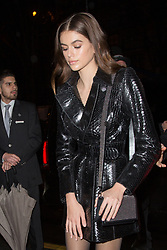 Cindy Crawford and Kaia Gerber leaving Alaia event and during Paris Fashion Week Men's on January 21, 2018 in Paris, France. Photo by Nasser Berzane/ABACAPRESS.COM