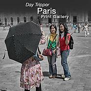 DAY TRIPPER - PARIS - Street People Photo Art Series by Photographer Paul E Williams
