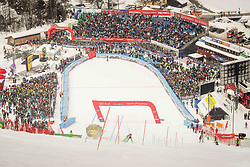 Stefan Hadalin during 2nd run of Men's Slalom race of FIS Alpine Ski World Cup 57th Vitranc Cup 2018, on March 4, 2018 in Podkoren, Kranjska Gora, Slovenia. Photo by Ziga Zupan / Sportida