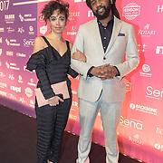 NLD/Amsterdam/201702013- Edison Pop Awards 2017, Mc Fit<br /> Rapper, Glenn Faria