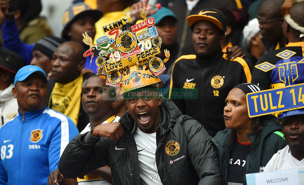 Cape Town-180825- Happy Cape Town City supporters after beating Mamelodi Sundowns 1-0 in the MTN 8 semi-final at Cape Town Stadum.Photographer :Phando Jikelo/African News Agency/ANA