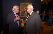 Viscount Norwich and Sir James Cayzer, Sothebys's Summer party, 7 June 2004. ONE TIME USE ONLY - DO NOT ARCHIVE  © Copyright Photograph by Dafydd Jones 66 Stockwell Park Rd. London SW9 0DA Tel 020 7733 0108 www.dafjones.com