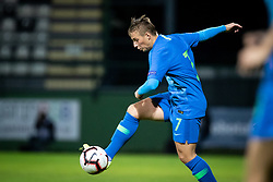 Kristina Erman of Slovenia during football match between Slovenia and Nederland in qualifying Round of Woman's qualifying for EURO 2021, on October 5, 2019 in Mestni stadion Fazanerija, Murska Sobota, Slovenia. Photo by Blaž Weindorfer / Sportida