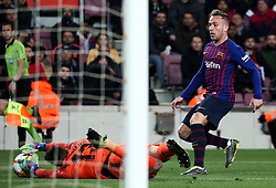 January 30, 2019 - Barcelona, Spain - Arthur during the match between FC Barcelona and Levante UD, corresponding to the 1/8 final of the spanish cup, played at the Camp Nou Stadium, on 17th January 2019, in Barcelona, Spain. Photo: Joan Valls/Urbanandsport /NurPhoto. (Credit Image: © Joan Valls/NurPhoto via ZUMA Press)