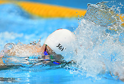 JAKARTA, Aug. 24, 2018  Sun Yang of China competes during men's 1500m freestyle final of swimming at the 18th Asian Games in Jakarta, Indonesia, Aug. 24, 2018. Sun won the gold medal. (Credit Image: © Pan Yulong/Xinhua via ZUMA Wire)