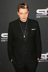 © Licensed to London News Pictures. 15/12/2013, UK. <br /> John Newman, BBC Sports Personality Of The Year, Leeds Arena, Yorkshire UK, 15 December 2013. Photo credit : Richard Goldschmidt/Piqtured/LNP
