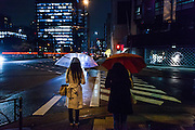 TTokyo, Ginza - People in the street of Ginza