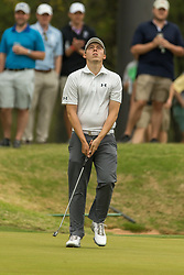 March 23, 2018 - Austin, TX, U.S. - AUSTIN, TX - MARCH 23: M. Fitzpatrick reacts after missing a birdie putt during the WGC-Dell Technologies Match Play Tournament on March 22, 2018, at the Austin Country Club in Austin, TX.  (Photo by David Buono/Icon Sportswire) (Credit Image: © David Buono/Icon SMI via ZUMA Press)