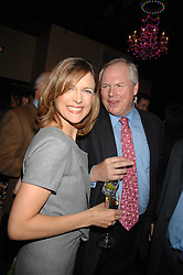 ADAM BOULTON and KATIE DERHAM at a party to celebrate the publication of Piers Morgan's book 'Don't You Know Who I Am?' held at Paper, 68 Regent Street, London W1 on 18th April 2007.<br /><br />NON EXCLUSIVE - WORLD RIGHTS
