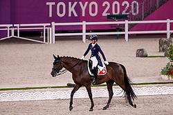 TOKYO - Olympische Spiele / Olympic Games 2021<br /> <br /> WETTSTEIN Estelle (SUI), West Side Story OLD<br /> Grand Prix de Dressage<br /> <br /> Tokio, Equestrian Park<br /> 25. July 2021<br /> © www.sportfotos-lafrentz.de/Stefan Lafrentz