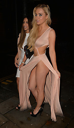 Kayleigh Morris and Melissa Reeves attends the Elbrook annual charity gala ball in Mitcham, Surrey, UK. 29/10/2015<br />BYLINE MUST READ : GOTCHAIMAGES.COM<br /><br />Copyright by © Gotcha Images Ltd. All rights reserved.<br />Usage of this image is conditional upon the acceptance <br />of Gotcha Images Ltd, terms and conditions available at<br />www.gotchaimages.com