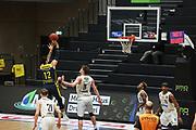 Basketball: Deutschland, 1. Bundesliga, Hamburg Towers -  EWE Baskets Oldenburg, Hamburg, 14.04.2021<br />  (Towers)<br /> © Torsten Helmke
