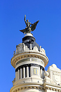 Union and the Phoenix building 1926, architect Benjamin Gutierrez Prieto, Plaza Tendillas, Cordoba, Spain