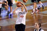DESCRIZIONE : Lucca Miss Italia Alice Sabatini Allenamento con la Nazionale Femminile Senior<br /> GIOCATORE : Alice Sabatini<br /> CATEGORIA : allenamento tiro<br /> SQUADRA : Nazionale Femminile Senior<br /> EVENTO : Miss Italia Alice Sabatini Allenamento con la Nazionale Femminile Senior<br /> GARA : Miss Italia Alice Sabatini Allenamento con la Nazionale Femminile Senior<br /> DATA : 20/11/2015<br /> SPORT : Pallacanestro<br /> AUTORE : Agenzia Ciamillo-Castoria/Max.Ceretti<br /> GALLERIA : Nazionale Femminile Senior<br /> FOTONOTIZIA : Lucca Miss Italia Alice Sabatini Allenamento con la Nazionale Femminile Senior<br /> PREDEFINITA :