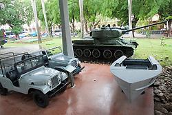 Jeeps, T34 Tank & Pirate Boat, Granma Memorial