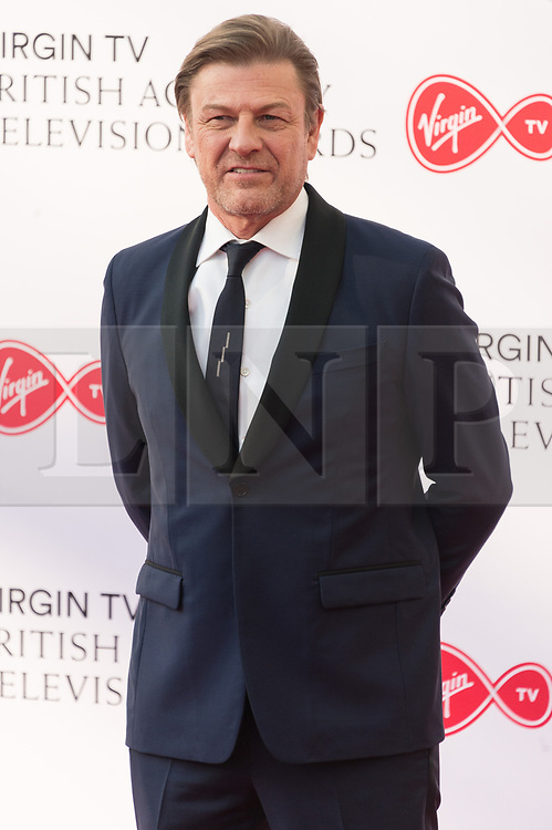 © Licensed to London News Pictures. 13/05/2018. London, UK. SEAN BEAN arrives for the Virgin TV British Academy (BAFTA) Television Awards. Photo credit: Ray Tang/LNP