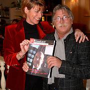Uitreiking Omroepman van het jaar, Tineke de Groot en Bert