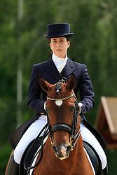 Carneiro Ana Filipa (POR) - Treinado<br /> FEI European Dressage Championship Young Riders - Bern 2012<br /> © Hippo Foto - Leanjo de Koster