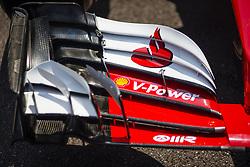 May 26, 2017 - Monaco, Monaco - Ferrari front wing detail during the Monaco Grand Prix of the FIA Formula 1 championship, at Monaco on 26th of 2017. (Credit Image: © Xavier Bonilla/NurPhoto via ZUMA Press)