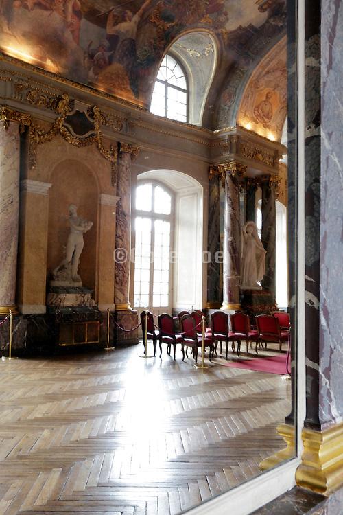Salle des Illustres inside Le Capitole in Toulouse France