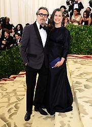 Gary Oldman and Gisele Schmidt attending the Metropolitan Museum of Art Costume Institute Benefit Gala 2018 in New York, USA.