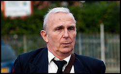 University lecturer Brian Dodgeon arrives at Isleworth Crown court  to be sentenced after he admitted possessing a horde of Class A drugs at his home where a school girl died during a party. Isobel Jones-Reilly, 15, died after taking ecstasy at an unsupervised party at 61-year-old's west London home in April, 2011, Friday December 2, 2011. Photo By Andrew Parsons/ i-Images