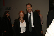 Sir Nicholas serota and Tessa Jowell, THE LOUISE T BLOUIN INSTITUTE OPENS WITH INAUGURAL EXHIBITION: James Turrell: A Life in Light Exhibition. OLAF ST. LONDON. 12 OCTOBER 2006.  -DO NOT ARCHIVE-© Copyright Photograph by Dafydd Jones 66 Stockwell Park Rd. London SW9 0DA Tel 020 7733 0108 www.dafjones.com