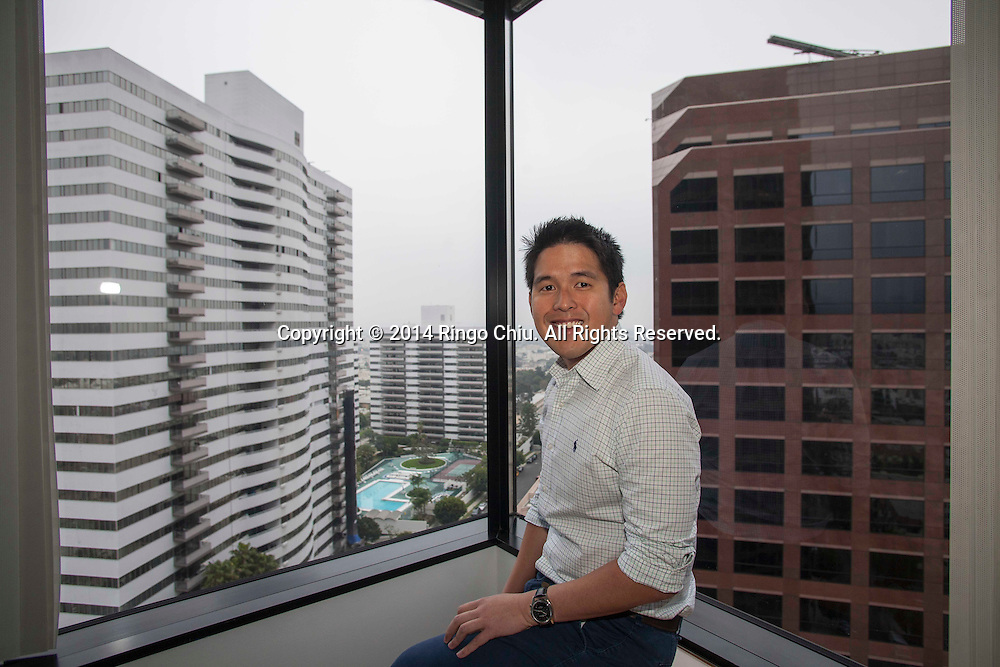 TX Zhou, a venture capitalist who invested in ad company Nearwoo.<br /> (Photo by Ringo Chiu/PHOTOFORMULA.com)