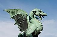Dragon Bridge, Ljubljana, Slovenia © Rudolf Abraham