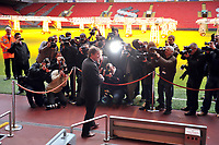 Kenny Dalglish Caretaker Manager at todays Press Conference in the famous Anfield Stadium 10/01/11<br />Liverpool 2010/11<br />Photo: Fotosports International