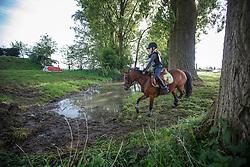 Desmedt Emma (BEL) - Skeeler<br /> Nationaal Kampioenschap Eventing Pony's <br /> LRV Gavere 2014<br /> © Dirk Caremans