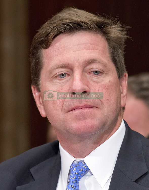 June 27, 2017 - Washington, District of Columbia, United States of America - Jay Clayton, Chairman, United States Securities and Exchange Commission testifies before the US Senate Committee on Appropriations Subcommittee on Financial Services and General Government hearing to examine proposed budget estimates and justification for fiscal year 2018 for the SEC and the CFTC on Capitol Hill in Washington, DC on Tuesday, June 27, 2017..Credit: Ron Sachs / CNP (Credit Image: © Ron Sachs/CNP via ZUMA Wire)