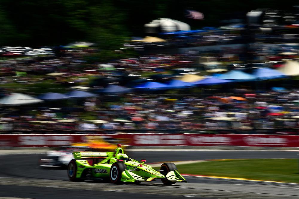 Simon Pagenaud, Team Penske Chevrolet<br /> Sunday 24 June 2018<br /> KOHLER Grand Prix at Road America<br /> Verizon IndyCar Series<br /> Road America WI USA<br /> World Copyright: Scott R LePage