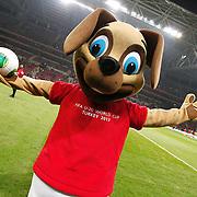 FIFA U-20 World Cup 2013 Turkey Mascot's Kanki. Photo by TURKPIX