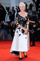 Actress Helen Mirren attending The Leisure Seeker Premiere during the 74th Venice International Film Festival (Mostra di Venezia) at the Lido, Venice, Italy on September 03, 2017. Photo by Aurore Marechal/ABACAPRESS.COM