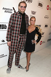 February 24, 2019 - West Hollywood, CA, USA - LOS ANGELES - FEB 24:  Bryan Fuller, Kristin Chenoweth at the Elton John Oscar Viewing Party on the West Hollywood Park on February 24, 2019 in West Hollywood, CA (Credit Image: © Kay Blake/ZUMA Wire)
