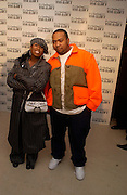 Missy Elliot and TimbaLand, M.A.C. Viva glam V lipstick launch dinner, profits go to the MAC Aids fund,   Hempel Garden. ONE TIME USE ONLY - DO NOT ARCHIVE  © Copyright Photograph by Dafydd Jones 66 Stockwell Park Rd. London SW9 0DA Tel 020 7733 0108 www.dafjones.com