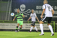 Forest Green Rovers Liam Noble (15) passes the ball during the Vanarama National League match between Forest Green Rovers and Eastleigh at the New Lawn, Forest Green, United Kingdom on 13 September 2016. Photo by Shane Healey.