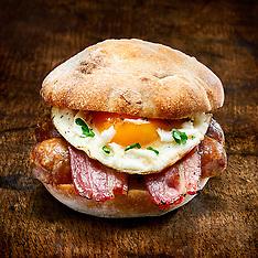 English Breakfast Burger