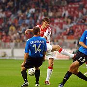 NLD/Amsterdam/20060823 - Ajax - FC Kopenhagen, afstandschot van Klaas Jan Huntelaar