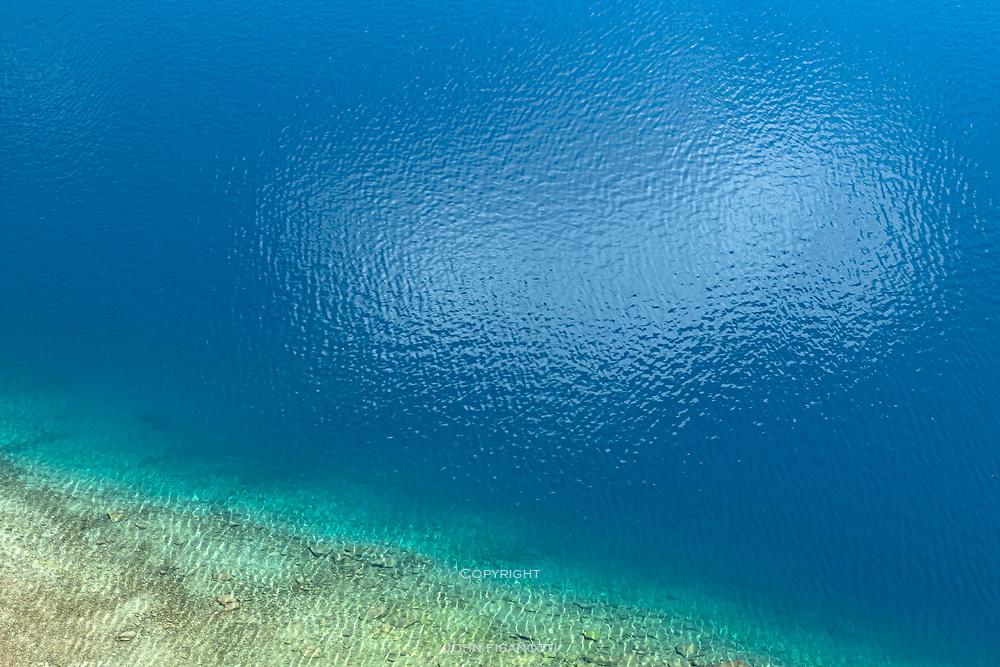 Reflected Cloud on Duck Lake, John Muir Wilderness