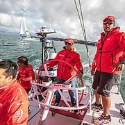 Lisbon stopover, Pro-Am race 1 on board Mapfre Photo by Ugo Fonolla/Volvo Ocean Race. 02 November, 2017.