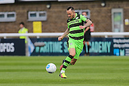 Forest Green Rovers Rhys Murphy (39) controls the ball during the Vanarama National League match between Dover Athletic and Forest Green Rovers at Crabble Athletic Ground, Dover, United Kingdom on 10 September 2016. Photo by Shane Healey.