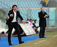 """Walter Mazzarri, allenatore Napoli.<br /> Udine, 7/02/2010 Stadio """"Friuli""""<br /> Udinese-Napoli.<br /> Campionato Italiano Serie A 2009/2010<br /> Foto Nicolò Zangirolami Insidefoto"""