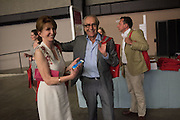 JANE ASHER; GERALD SCARFE, The £100,000 Art Fund Prize for the Museum of the Year,   Tate Modern, London. 1 July 2015